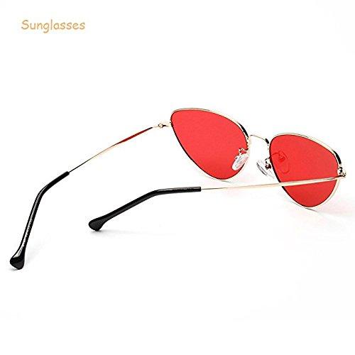 para Estilo Mujeres Ojo con Rosa Forepin de Sol UV400 Gafas Gato De qCpxn1Fwt