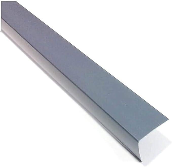 1 metro de /ángulo protector de esquinas para pared Protector de esquina para esquina de pl/ástico PVC gris de 90 grados perfiles TMW