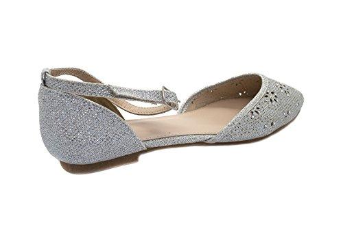 Ballet Silver donna London London Footwear Footwear Ballet UgUqd4