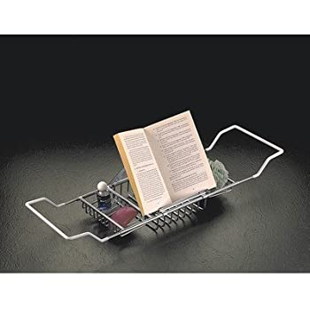 Amazon Com Taymor Ultimate Bathtub Caddy Chrome Home