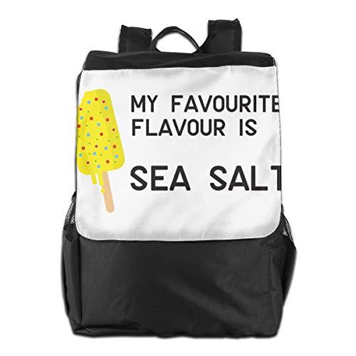 XIVEIER Art Sea Salt Ice Cream Hip Hop Laptop Bag For Girls (Back To Basics Disney Ice Cream Maker)