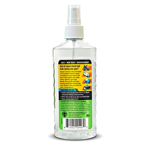 Sweat X Sport Odor Eliminator Spray | Odor Spray For Sports Equipment, Gear and Shoes | No Washing Required by Sweat X (Image #1)