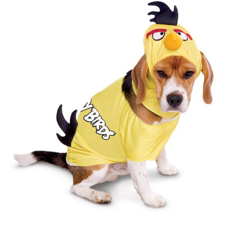Paper Magic Angry Birds Yellow Bird Dog Pet Halloween Costume -