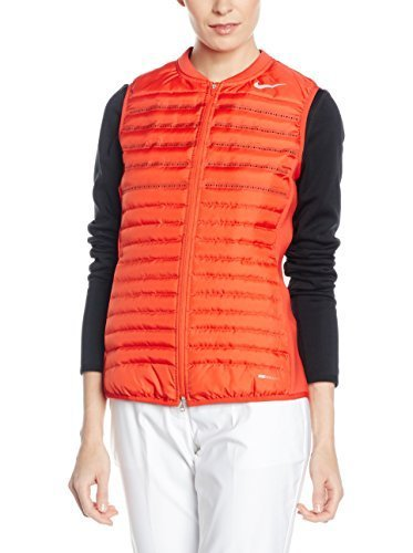 Nike Aeroloft Combo Golf Vest 2016 Womens Light Crimson/Wolf Grey/Reflective Silv X-Large by NIKE (Image #1)