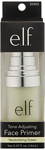 e.l.f. Tone Adjusting Face Primer, Small Bottle, 0.47 fl. oz.