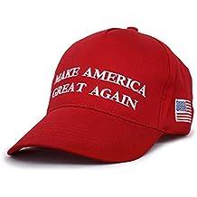 US Buy Donald Trump Hats Caps - MAKE AMERICA GREAT AGAIN - (Red)