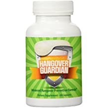 Hangover Guardian: Advanced Hangover Pills w/Activated Charcoal, Cysteine, COQ10, & B Complex Vitamin Formula (60 Capsules)