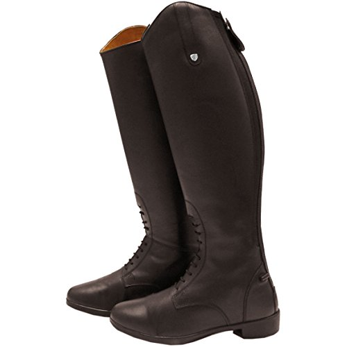 Horseware Laced Wide Womens Long Riding Boots Brown OyPcQR5