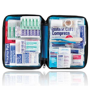 First Aid Only 200 Piece All-Purpose First Aid Kit, Soft Case by First Aid Only
