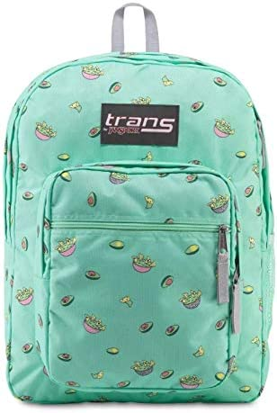 JanSport Trans Supermax Back Pack Avocado Party