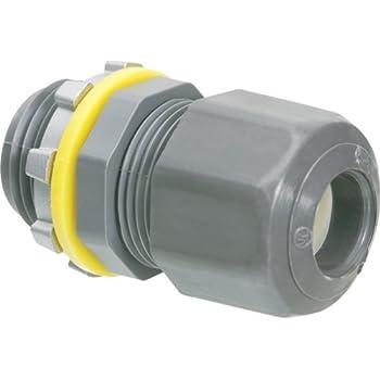 LOT 0F 25  HEYCO 1//4 inch NPT Strain Relief Cord Grip Cable Gland  w// LOCKNUT