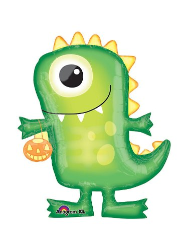Amazon.com: Halloween Monster con forma de globo (cada uno ...