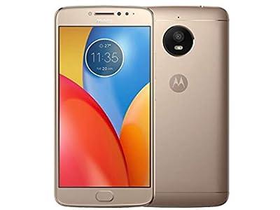 "Motorola moto e? XT1765 16GB Smartphone 8MP 5.0"" HD Android 7.1 Nougat (Fine Gold) T-Mobile"