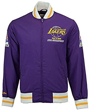 Mitchell & Ness Los Angeles Lakers equipo historia Warm Up ...