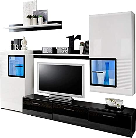 Impresionante juego de salón Panda - Mueble de TV - aparador ...