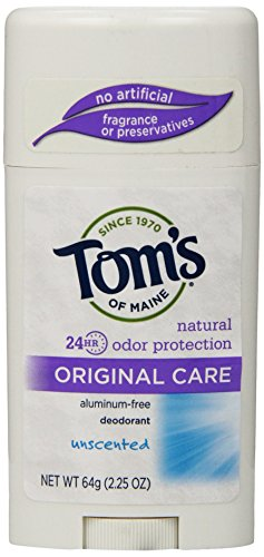 Price comparison product image Tom's of Maine Natural Original Care Deodorant Stick, Unscented, 2.25 Ounce