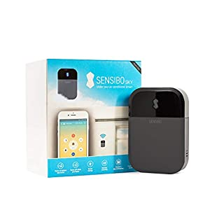 Sensibo Sky (International) – Air Conditioner Controller, Wi-Fi, Compatible with iOS and Android, Compatible with Alexa & Google Home