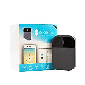 Sensibo Sky - Air Conditioner Controller, Wi-Fi, Compatible with Amazon Alexa & Google Home, Supports iOS & Android