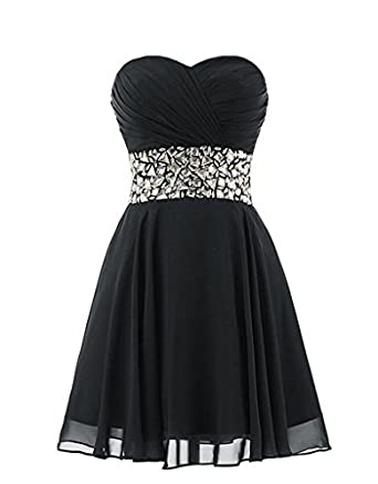 Luyide Lovely Sweetheart Short Cocktail Dresses 2017 Crystals Summer