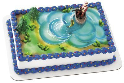 Fishing Action Set Cake Decorating Kit (4 Pieces) ()
