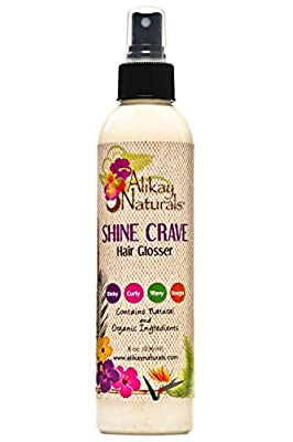 Alikay Naturals Shine Crave Hair Glosser - 8 Ounce