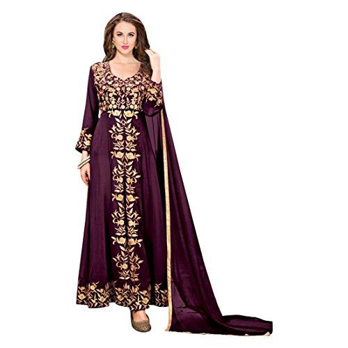 Wear musulmano sposa Wedding Hijab donna da 767 da Salwar sposa Costume AnarKali Abito da Party Abito Abito Kameez xqAZnSUw