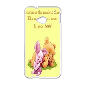 HTC One M7 Cell Phone Case Winnie The Pooh & Quotes Case Cover PA8P313935