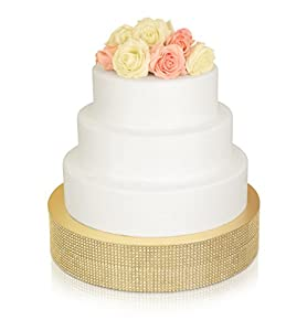 Amazon Com Rhinestone Wedding Cake Stand Inch Round