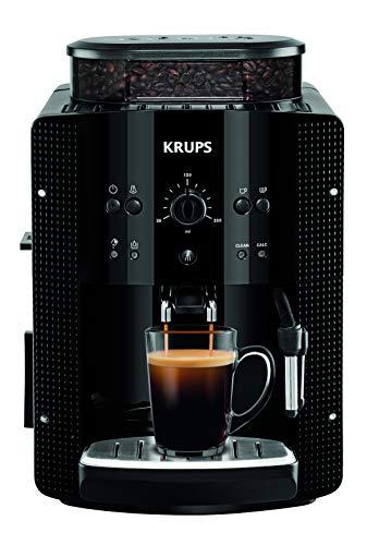 Krups Ea8108 Volautomatische Espressomachine, Automatische Reiniging, 2-Kopjesfunctie, Melkopsysteem met Cappucinoplus…