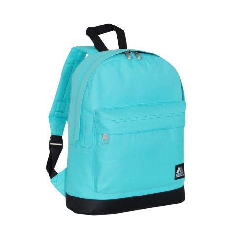 Everest Junior Backpack, Aqua Blue, One - Junior Blue
