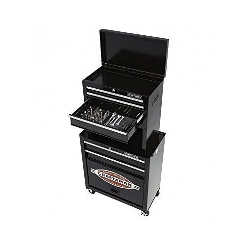 Craftsman 5-drawer Homeowner Tool Center with 58-pc Craftsman Tool Set (Craftsman 5 Drawer Homeowner Tool Chest Center)