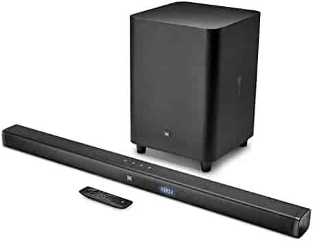 JBL Bar 3.1 Home Theater Starter System with Soundbar and Wireless Subwoofer with Bluetooth