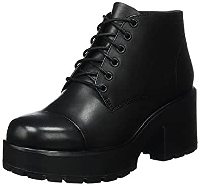 Vagabond Dioon Womens Leather Matt Boots (8.5 US, Black)