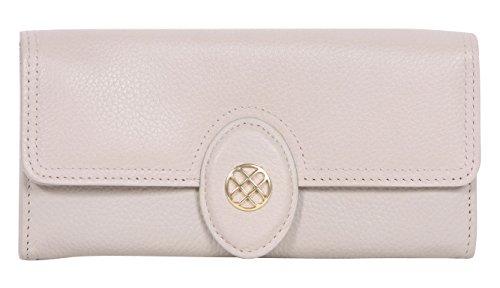 Buxton Expandable Clutch Ladies Wallet