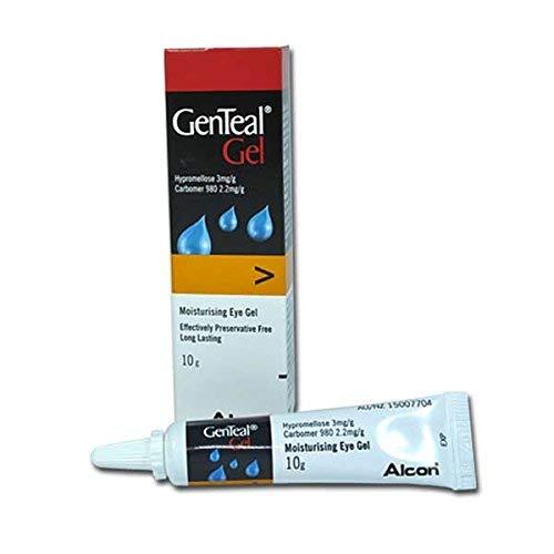 (GENTEAL EYE GEL 10GM Long-Lasting Relief Of Dry Eye)