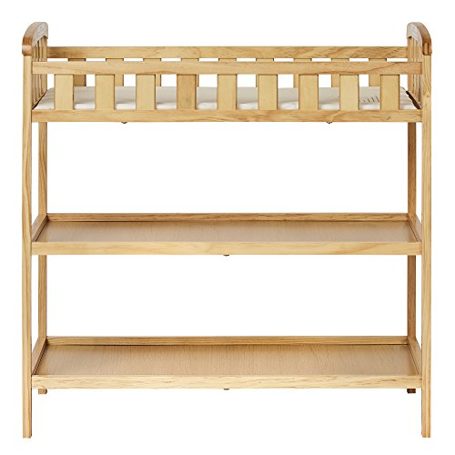 Dream On Me Emily Changing Table, Natural - Natural Wood Table