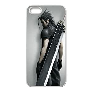 iPhone 5 5s Cell Phone Case White Final Fantasy Soldier Eanjv