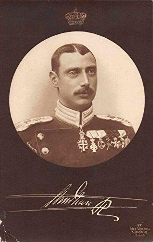 Christian X of Denmark Royalty Real Photo Antique Postcard J67213