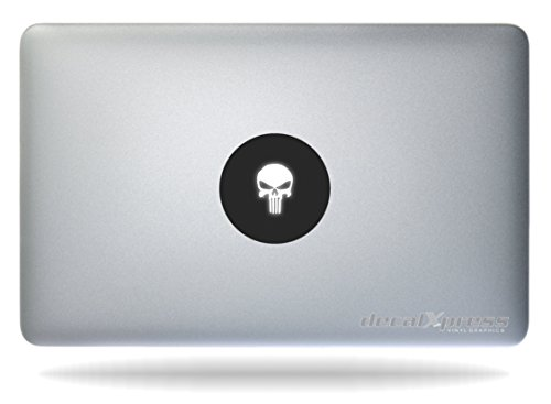 The Punisher - Sticker Decal MacBook، Air، Pro All Model