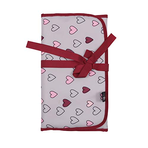 changing pad happy hearts