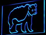 ADV PRO i829-b Grizzly Bear NEW Animals Display Neon Light Sign
