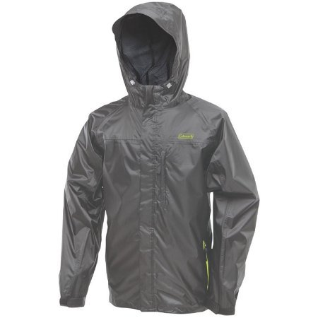 Coleman Jacket - Coleman Company Rainwear Danum Jacket, Grey/Lime, Medium