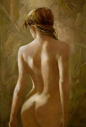 SUMIANYH Oil Paintings On Canvas Hand Painted,Abstract Sexy The Body Art Sexy Female Body Home Large Size Oil Paintings Wall Art for Bedroom Living Room Decoration Painting Without ()