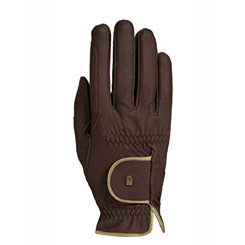 Roeckl ladies contrast riding gloves LONA