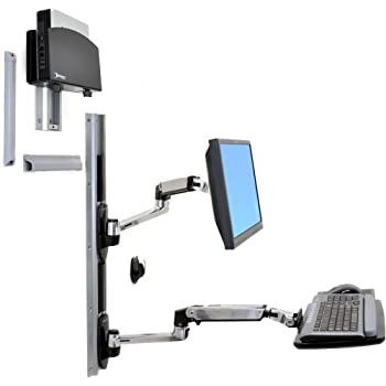 Amazon Com Ergotron Styleview Sit Stand Combo System