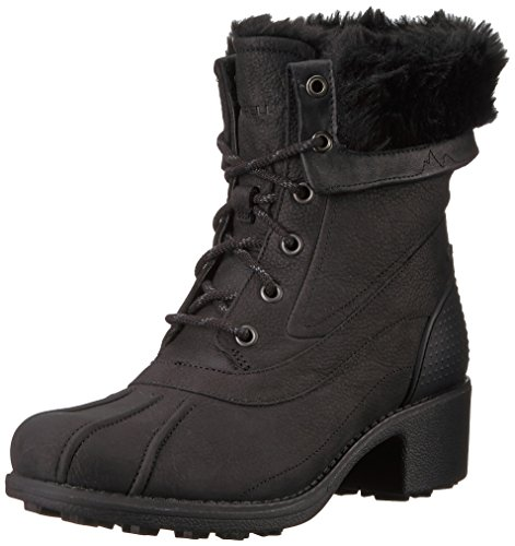 Merrell Women's Chateau Mid Lace Polar Waterproof Snow Boot Black