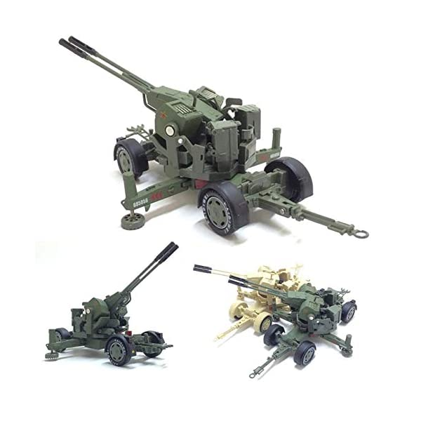LXWM 1/35 Model Military Toys Anti-Aircraft Weapon System Aircraft Anti-Aircraft Gun Diecast Metal Toy Model for… 6