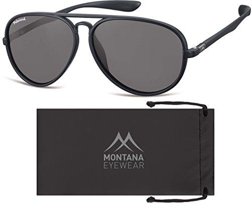 Montana Multicolore Black Mixte Soleil Smoked Lunettes Multicoloured de Lenses wZgwqvBz