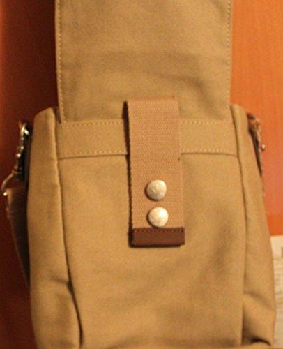 Hanf bolsillo en bolso matrasa Bolso HF012 de Pure coloures 4 bandolera cáñamo cinturón xBP8wZq