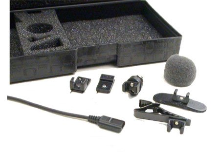 Tram TR50 BML+ Lavalier Microphone w/ TA5f Connector for Lectrosonics, Black